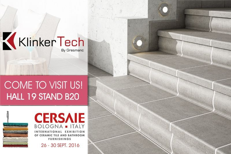 KlinkerTech, one more time, will be present in Cersaie